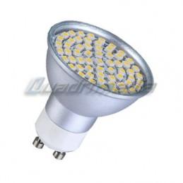 AMPOULE GU10 6W LED 80 SMD 3528 BLANC PURE