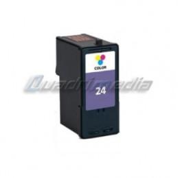 LEXMARK N° 24 CARTOUCHE JET D'ENCRE COULEUR C/M/Y COMPATIBLE