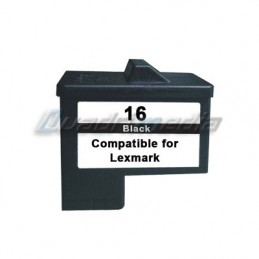 LEXMARK N° 16 CARTOUCHE JET D'ENCRE NOIR COMPATIBLE