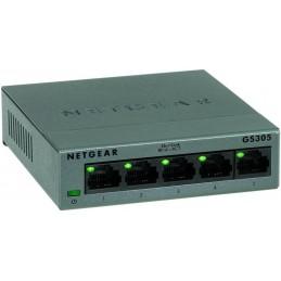 NETGEAR GS305-100PES Switch Réseau 5 ports gigabit 10/100/1000