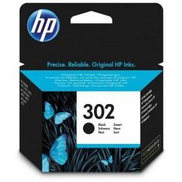 HP 302 (F6U66AE) Noir Cartouche authentique pour HP DeskJet 2130/3630 et HP OfficeJet 3830 ...