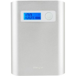 PNY PowerPack Alu Digital 10400mAh 2,4A / 1A - 3 USB BATTERIE EXTERNE SMARTPHONE TABLETTE