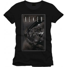 COTTON DIVISION Alien T-shirt Cover To Be Or Not Anthracite XL