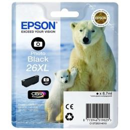 EPSON 26XL T2631XL CARTOUCHE D'ENCRE NOIR PHOTO XP-510 XP-610 XP-710 ...
