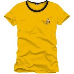 COTTON DIVISION Star Trek T-shirt Uniform Jaune M