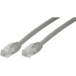 MCL Cordon spécial ADSL 3m connecteurs RJ11 6/4 mâle / mâle