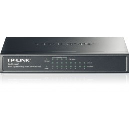 TP-LINK TL-SG1008P SWITCH RESEAU 8 PORTS GIGABIT - PoE