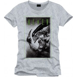 COTTON DIVISION Alien T-shirt Cover To Be Or Not Gris M