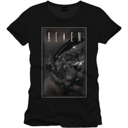 COTTON DIVISION Alien T-shirt Cover To Be Or Not Anthracite XXL