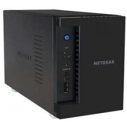 NETGEAR ReadyNas 212 NAS 2 BAIES - 4 COEURS 1,4GHz 2GO 2x PORT RJ45 3x USB3.0