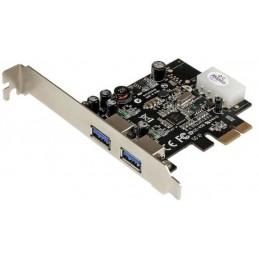 STARTECH carte contrôleur PCI-Express 1x avec 2 ports USB 3.0