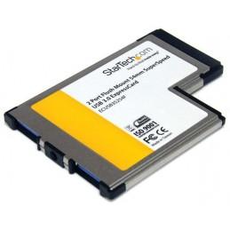 STARTECH ExpressCard/54 vers 2 ports USB 3.0