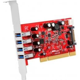 STARTECH CARTE PCI VERS 4 PORTS USB 3.0