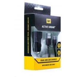 CAT Adaptateur allume-cigare (voiture) 2 connecteurs USB