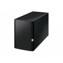 BUFFALO LINKSTATION 220 NAS 6TB INSTALLÉS (2x 3TB) 2 BAIES - LS220D SAUVEGARDE