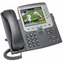 CISCO Unified IP Phone 7975G TÉLÉPHONE FIXE VoIP ÉCRAN LCD 5,6'' 8 LIGNES