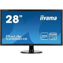 IIYAMA X2888HS-B2 ECRAN PC 28'' FULL HD 16:9 5ms VGA DVI HDMI DisplayPort