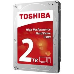 TOSHIBA P300 2TO HDD 3.5'' 7200rpm SATA3 6Gb/s 64Mo Cache