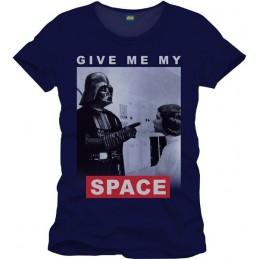 COTTON DIVISION STAR WARS T-shirt Give Me My Space Bleu XXL