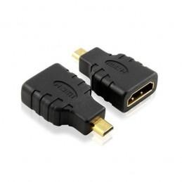 ADAPTATEUR COUPLEUR HDMI FEMELLE / MICRO-HDMI MALE