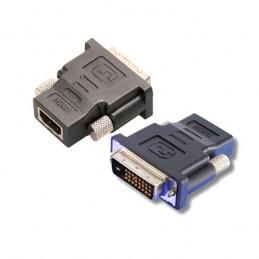 ADAPTATEUR HDMI FEMELLE / DVI-D MALE DUAL LINK 24+1