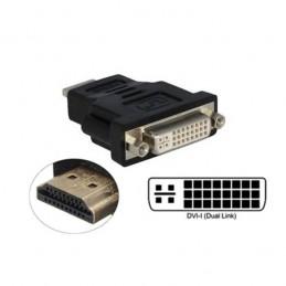 ADAPTATEUR HDMI MALE / DVI-I FEMELLE DUAL LINK 24+5
