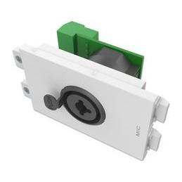 VISION TechConnect 3 XLR Femelle et 6,3mm Jack Combo PLAQUE MODULAIRE