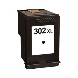 CR-302BKXL REMANUFACTURED JET D'ENCRE NOIR HP N° 302XL NO-OEM F6U68AE