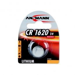PILE BOUTON LITHIUM CR1620 - 3V ANSMANN