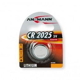 PILE BOUTON LITHIUM CR2025 - 3V ANSMANN