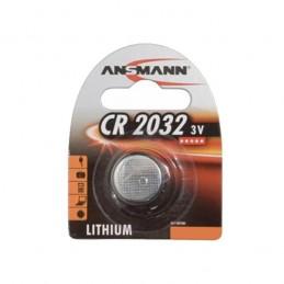 PILE BOUTON LITHIUM CR2032 - 3V ANSMANN