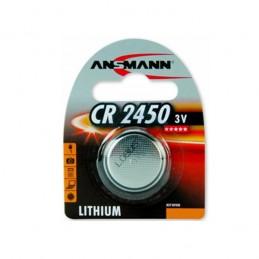 PILE BOUTON LITHIUM CR2450 - 3V ANSMANN