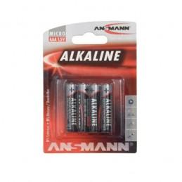 PILE BATON ALCALINE LR03 / AAA - 1,5V ANSMANN
