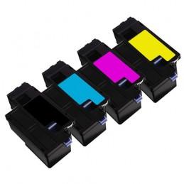 TR-1250/1350PACK COMPATIBLE DELL 1250 / 1350 NO-OEM TONERS LASER PACK BK/C/M/Y