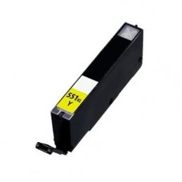 CANON CLI-551 XL Yellow Compatible