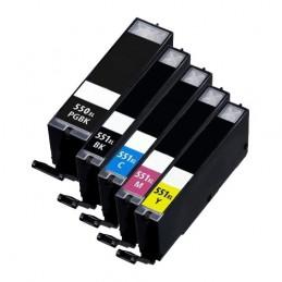 CANON PGI-550XL + CLI-551XL Multipack Compatible