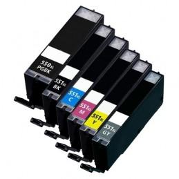 CANON PGI-550XL + CLI-551XL Multipack Full Compatible
