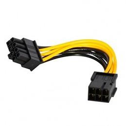 ADAPTATEUR PCIe 6 pins vers 8 pins pour carte PCI Express