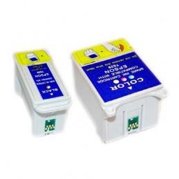 CR-T028T029 COMPATIBLE EPSON T028+T029 PACK NOIR+COULEUR CARTOUCHES JET D'ENCRE