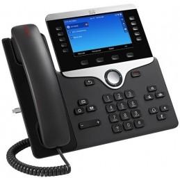 CISCO IP PHONE 8841 Téléphone fixe VoIP - 5 lignes - mains libres - répondeur