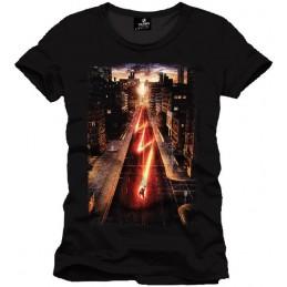 COTTON DIVISION FLASH T-shirt Poster Noir M