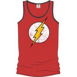 COTTON DIVISION FLASH Debardeur Logo Grunge Rouge XXL