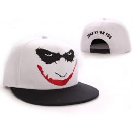 COTTON DIVISION BATMAN Casquette The Dark Knight Joker'S Smile Blanc
