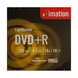 DVD+R 4,7GB / 120MIN IMATION ÉCRITURE 16X LIGHTSCRIBE - JAQUETTE