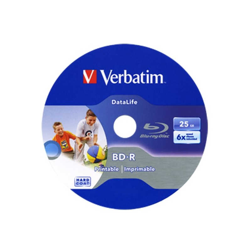BD-R 25GB / 135mn HD VERBATIM ÉCRITURE 1-6X BLU-RAY DISC IMPRIMABLE - BUNDLE - JAQUETTE