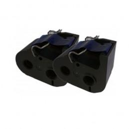 FRAMA Ecomail - Cassette ruban encreur bleu (x2) 100m remanufacturé FR23003016 compatible