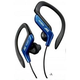JVC HA-EB75 Bleu Ecouteurs intra Auriculaire Tour d'oreille reglable - Sport