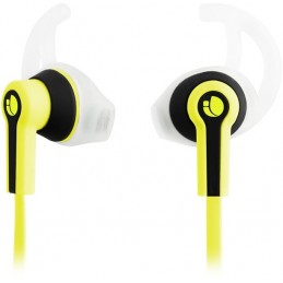 NGS Ecouteurs intra auriculaire avec micro Sports Jaune