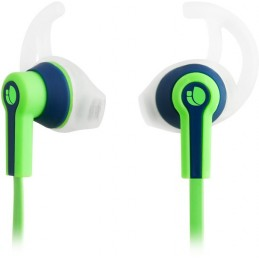 NGS Ecouteurs intra auriculaire avec micro Sports Vert