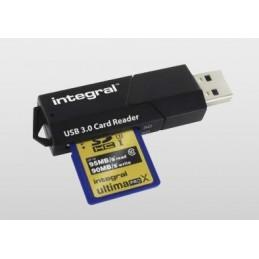 INTEGRAL Lecteur USB 3.0 de carte SD/ microSD/ SDHC/ microSDHC/ SDXC/ microSDXC